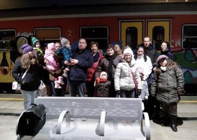 Izlet z vlakom/Kirándulás vonattal