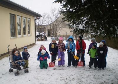 Veselje na snegu/Téli öröm