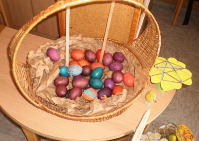 Naši velikonočni izdelki/Húsvéti készitményeink